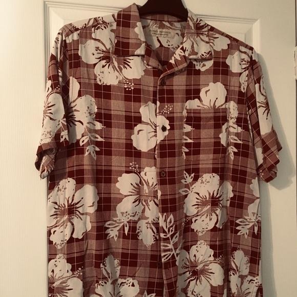 21410113 Island Republic Shirts | 100 Silk Shirt | Poshmark